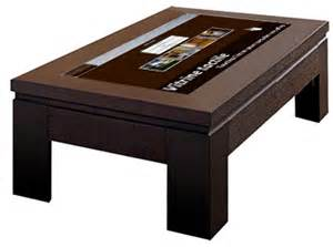 immo tactile table basse tactile