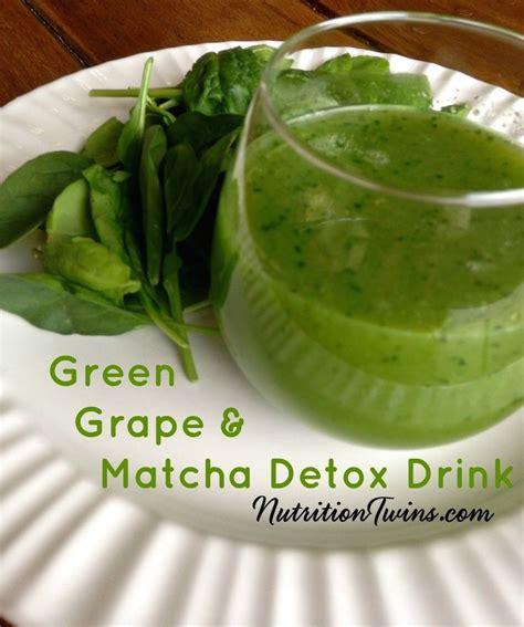 Matcha Detox by Green Grapes Detox Drinks And Matcha On