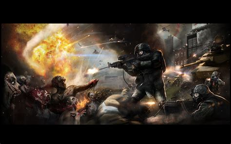 wallpaper keren zombie zombie desktop wallpaper 401ak47 a zombie survival plan