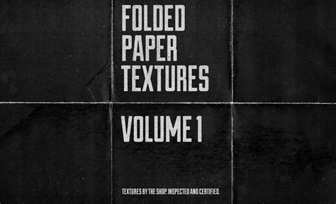 paper folds texture pack volume 1