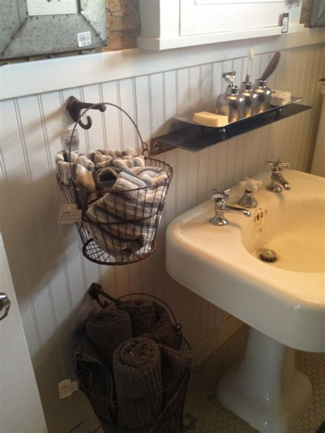 Storage In Bathroom Best 25 Hanging Wire Basket Ideas On Wire Basket On Wall Industrial Farmhouse