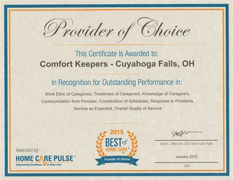 comfort keepers ohio home care in home care medina oh