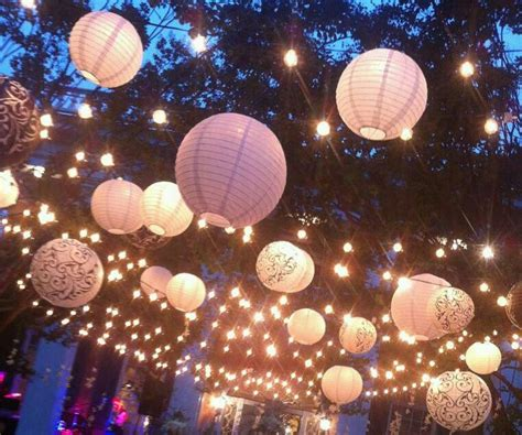 blue paper lantern string lights 57 best lionnen buiten gebruiken paper lanterns outside