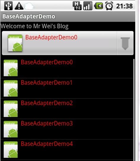 layoutinflater baseadapter 13 android中万能的baseadapter的使用 tfy1332 博客园