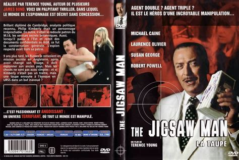 film the jigsaw man jaquette dvd de the jigsaw man la taupe cin 233 ma passion