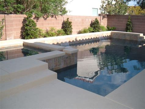 small pools and spas custom pool and spa design for small backyard space