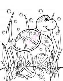 seaweed color coloring sheets of sea coloring pages
