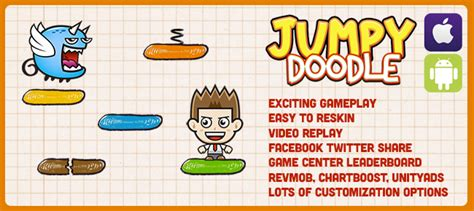 doodle jump unity buy jumpy doodle endless 2d jump for unity