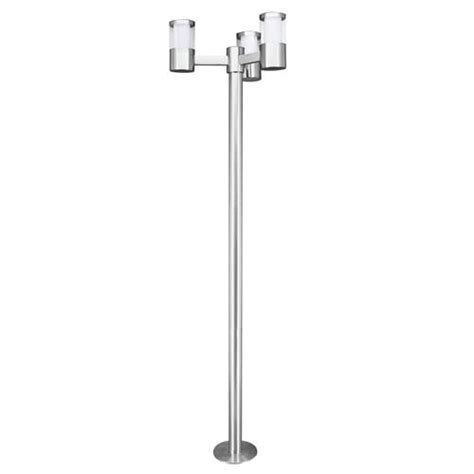outdoor led post lights basalgo 1 led 3 light outdoor post 94281 the lighting