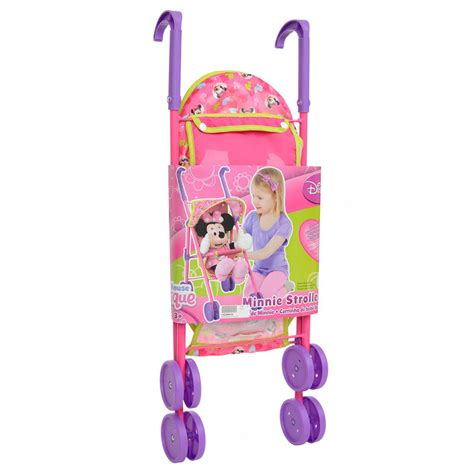 minnie mouse stroller childrens pink minnie mouse stroller buggy pram