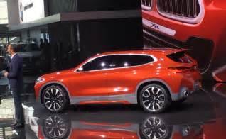 Evoque Interior Paris Motor Show 2016 Bmw X2 Concept Breaks Cover Ndtv
