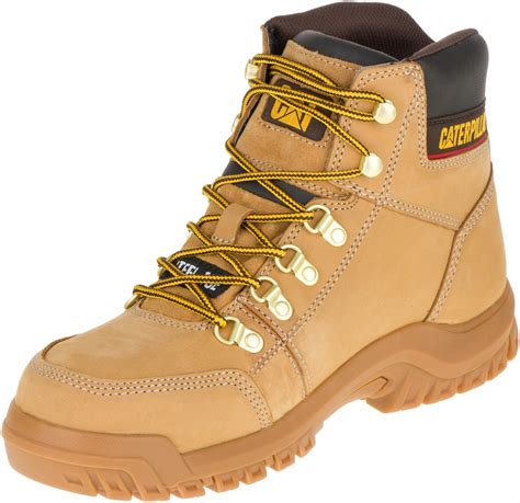 catervilar boot mdel caterpillar outline steel toe honey s cat work