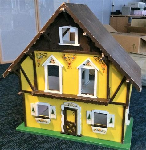 timber dolls house antique timber dolls house swiss chalet dora kuhn
