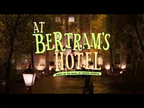 at bertrams hotel miss b0046re5g8 marple at bertram s hotel quot opening theme quot youtube