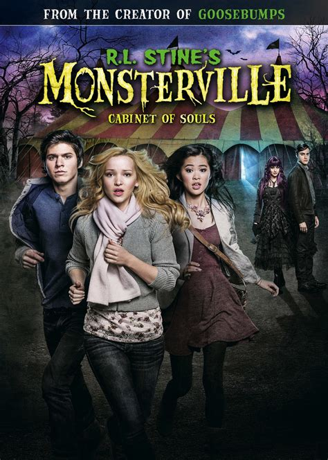 monsterville the cabinet of souls subscene subtitles for r l stine s monsterville the