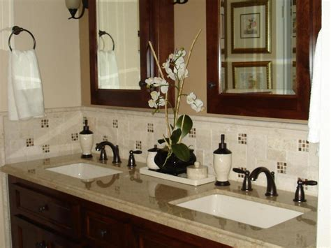 Bathroom Vanity Backsplash Ideas by Bathroom Vanity Backsplash Tile Ideas Home Design Ideas