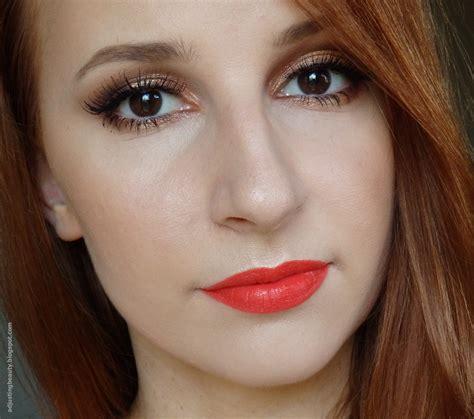 Maybelline Mascara Veh Black V2 copper gold shimmery summer makeup with orange