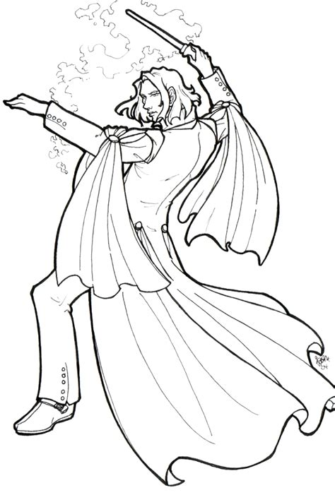 harry potter coloring pages dumbledore severus snape by jamberry on deviantart