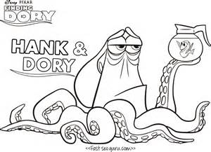 finding dory coloring page get coloring pages