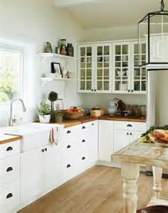 Perfect kitchen hanging lantern wood countertops open shelves