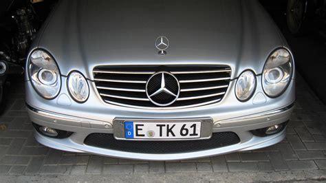Grille Kap Motor Mercedes E Class W211 grill 003 w211 bj 2004 auf amg e63 umbau m 246 glich