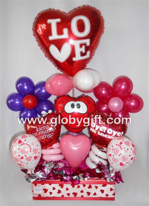 imagenes de regalo con globos deamor arreglo de globos para san valent 237 n arreglos con dulces