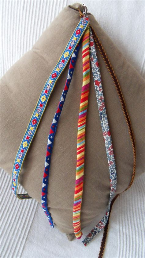 DIY Recycler des tissus pour réaliser un bracelet