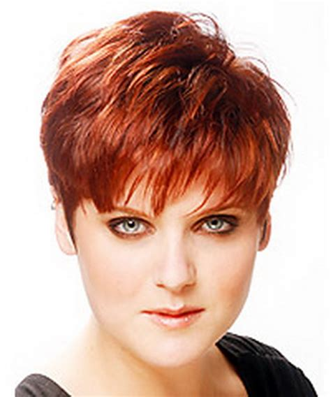 Red Short Cropped Hairstyles Over 50 | 1000 images about hair on pinterest short curly hair
