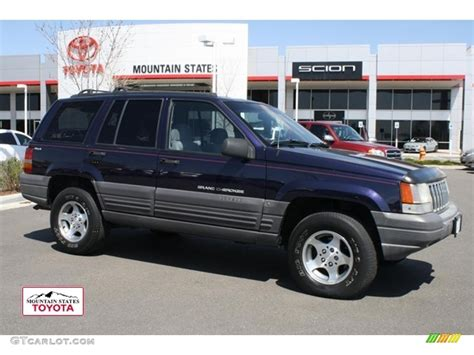 1997 amethyst pearl jeep grand laredo 4x4 48167857 gtcarlot car color