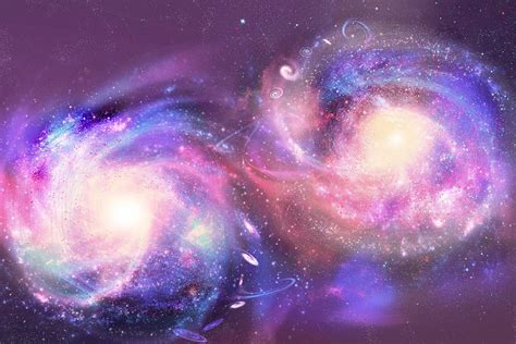 new galaxy our galaxy s impossible collision could gravity