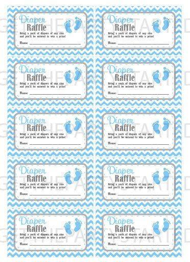 baby shower raffle tickets template printable raffle tickets carisoprodolpharm
