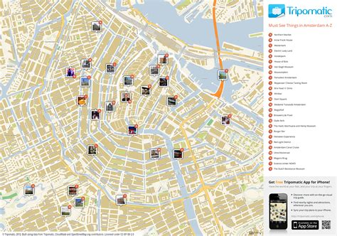 netherlands attractions map map of amsterdam attractions tripomatic places of