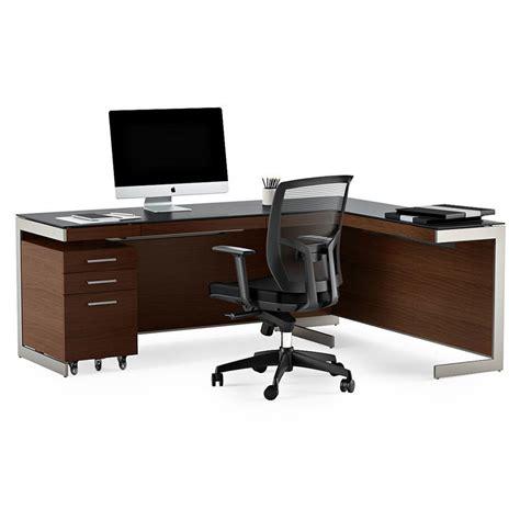 Modern Desk Sets Bdi Sequel Chocolate L Desk Modern Office Set Eurway