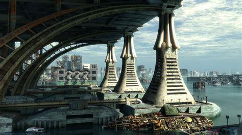 Cityscape Wallpaper by Futuristic City Wallpaper 19