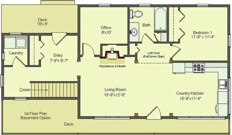 one story house plans with walkout basements lovely one floor house plans with walkout basement new home plans design