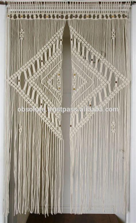 Macrame Door Hanger - large macrame wedding backdrop curtains wedding macrame