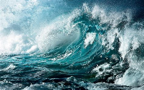 wallpaper 4k wave blue wallpaper waves hd desktop wallpapers 4k hd