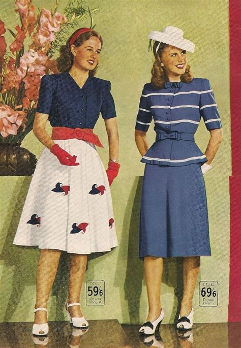 1900 shoes clothing hairstyles wakes catalogue spring summer 1946 vintage fashion style