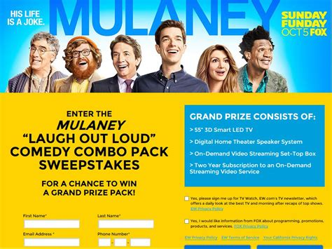 big a laugh out loud comedy mulaney laugh out loud comedy combo pack sweepstakes