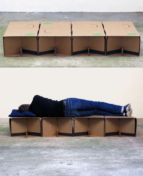 cardboard bed spartan sleeper disaster relief bed from cardboard boxes