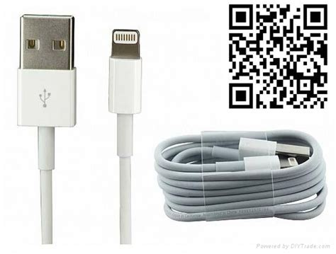 Original Apple Original Lightning Usb Cable White original official apple iphone 5 5s 5c lightning usb