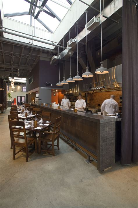 Open Kitchen Restaurant Design Lemaymichaud Le Local Architecture Design Hospitality Eatery Restaurant Dining
