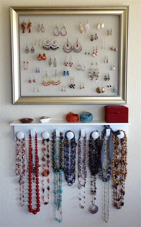 30 creative jewelry storage display ideas
