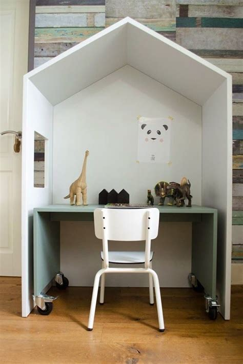 karwei kinderbed huisje kinderkamer met bureau thestylebox