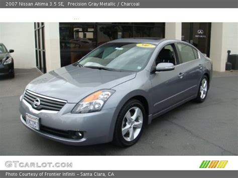 grey nissan altima 2007 precision gray metallic 2007 nissan altima 3 5 se