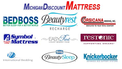 Mattress Brand Names by Michigan Discount Mattress Warehouse Store Styles Ranging