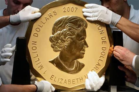 cadenas de oro raras la moneda de oro m 225 s grande del mundo planeta curioso