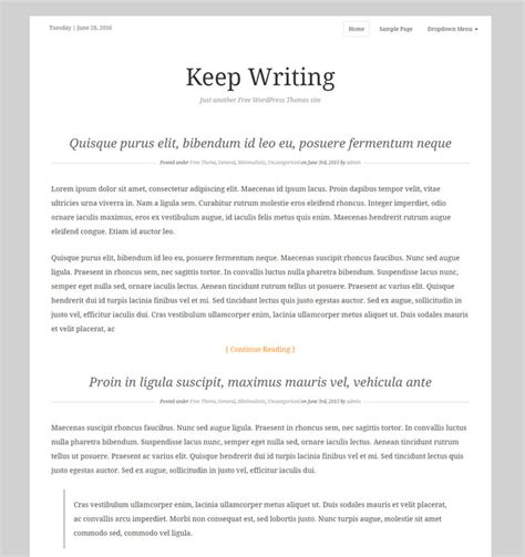 themes in essay writing 22 free author writer wordpress themes for pro blogging