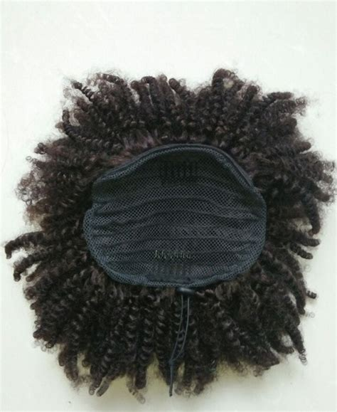 curly pony tail human hair advertised on qvc afro kinky curly ponytail human hair extension drawstring