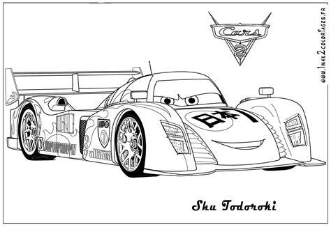 Coloring Page Cars 2 by Free Printable Color Pages For Adults Cars 2 The Jinni